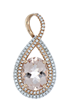 Morganite Ladies Pendant