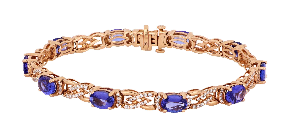 Tanzanite Ladies Bracelet