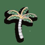 Palm Tree Pendant Sketch