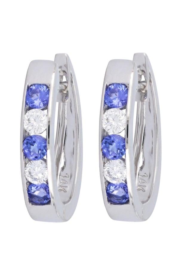 Tanzanite Ladies Earrings