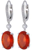 Fire Opal Ladies Earrings