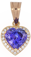 Tanzanite Ladies Pendant