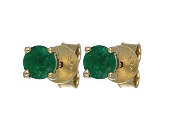Emerald Ladies Earrings