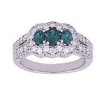 MARK HENRY Alexandrite Ladies Ring