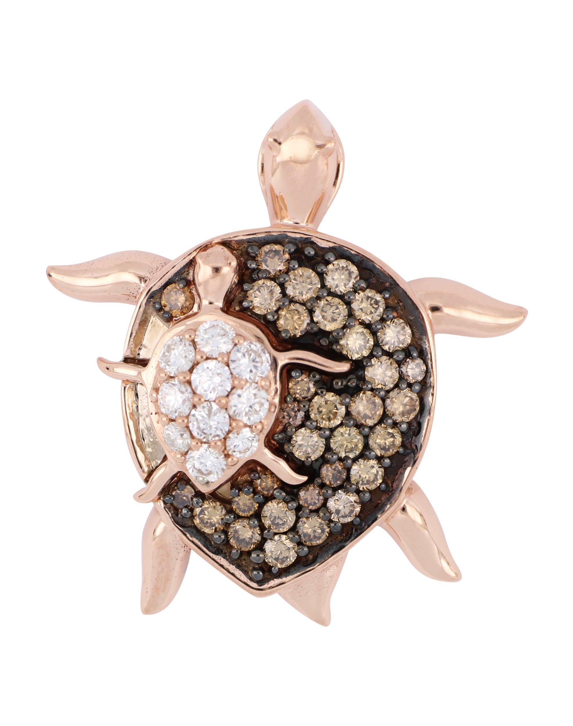 Brown Diamond Ladies Pendant