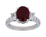 Ruby Ladies Ring