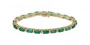 Emerald Ladies Bracelet