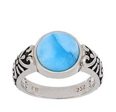 Larimar Ladies Ring