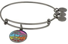 Alex and Ani Caribbean Palm Tree Bangle