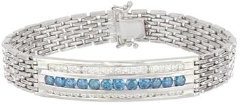 Blue Diamond Men's Bracelet