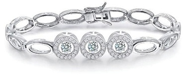 Bracelet with CZ Center