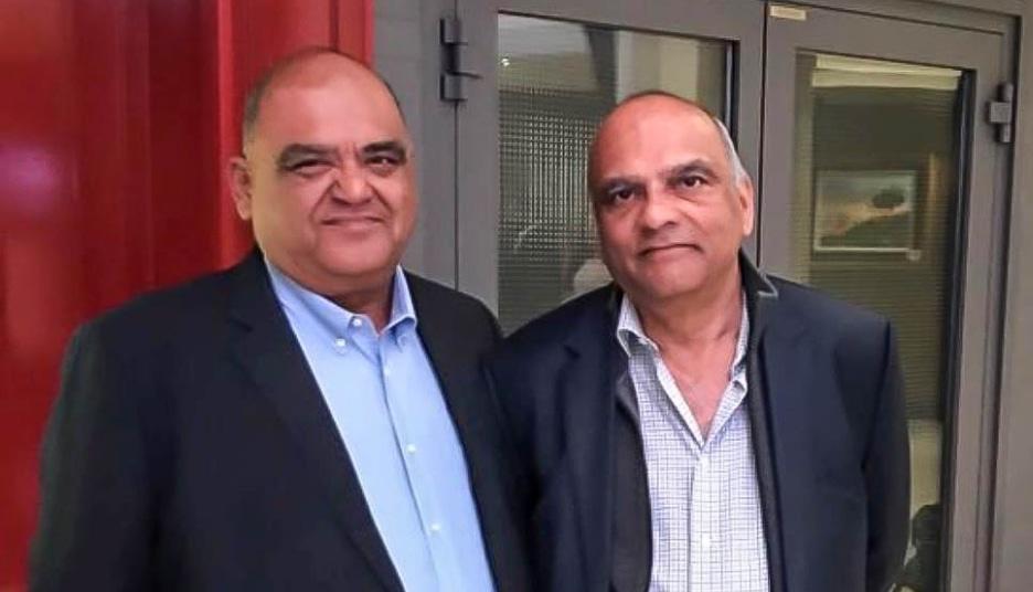 KFJ Founders Dan and Raj Chugani