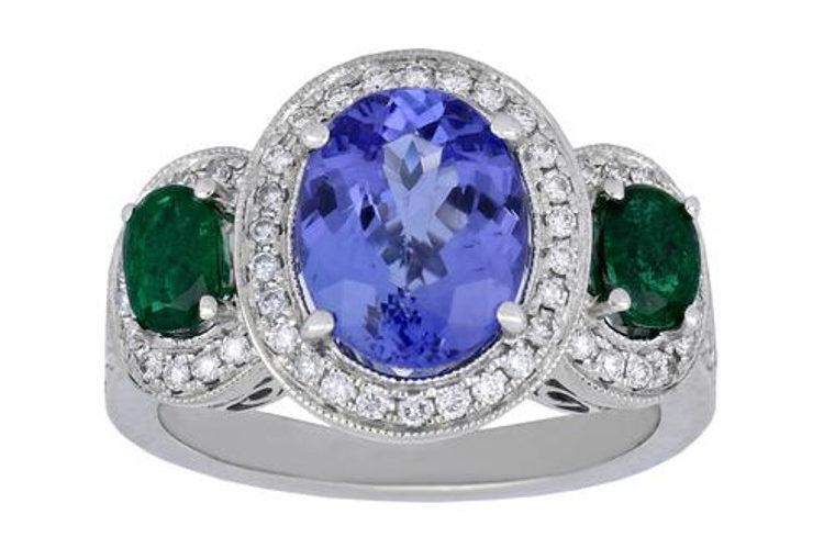 Tanzanite Ladies Ring